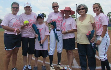 Strike Out Cancer at NSU Softball.